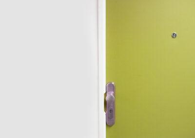 Una sola puerta